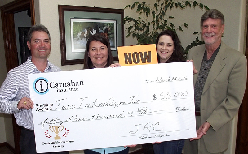 Tero Technologies Company Wins San Antonio Insurance Cost